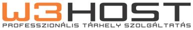W3HOST Webtarhely Szolgaltatas